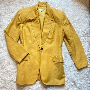 Ann Taylor yellow blazer for women